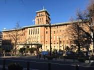 「キングの塔」の愛称で親しまれている(神奈川県庁舎)