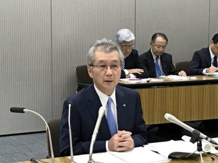 電事連会長に再登板した中部電の勝野哲社長(18日)
