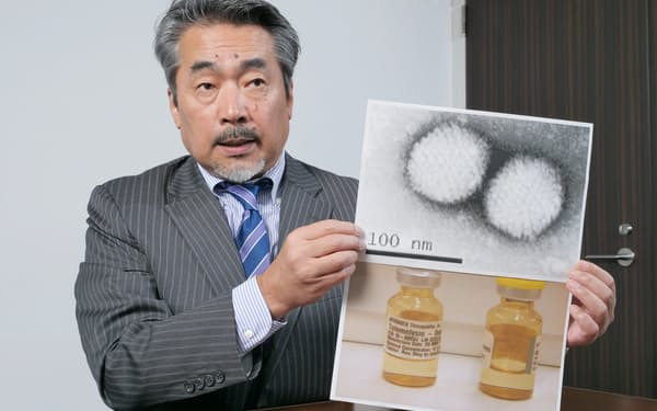 風邪のウイルスを元に薬を開発する(オンコリスバイオファーマの浦田泰生社長)