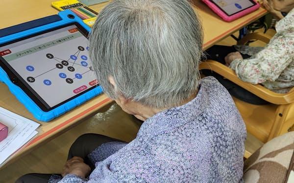 「コグエボ」はゲーム感覚で認知機能の特性や変化をチェックできる