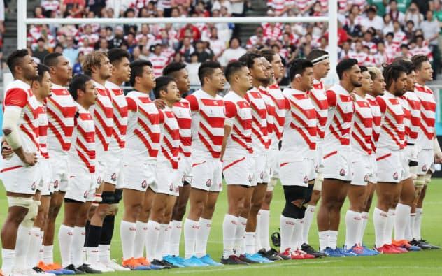 南ア戦に挑む 日本代表メンバー発表