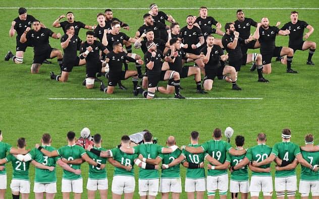 NZがアイルランドに圧勝 7トライ挙げ46-14