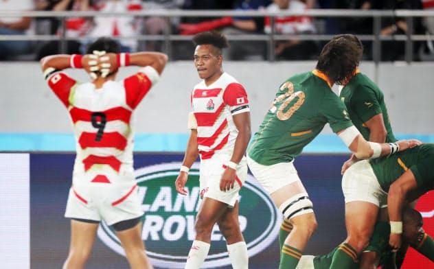 ラグビーW杯、日本4強ならず 南アフリカに3-26