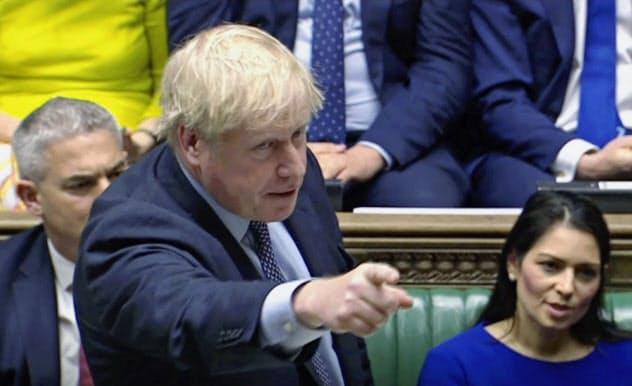 ジョンソン英首相はまだ10月末離脱の実現をあきらめていない=AP