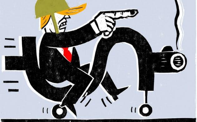 イラスト Daniel Pudles/Financial Times