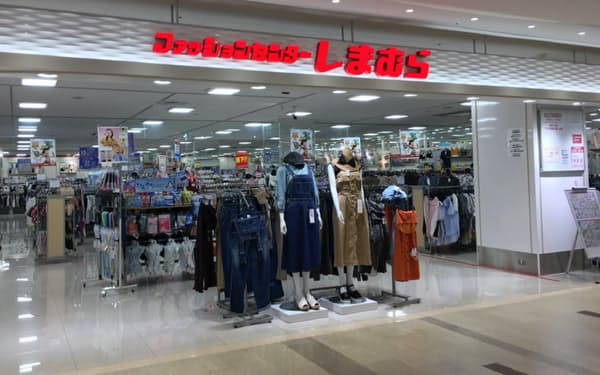 しまむらは今後、40~50代女性の獲得に力を入れる(兵庫県西宮市の店舗)