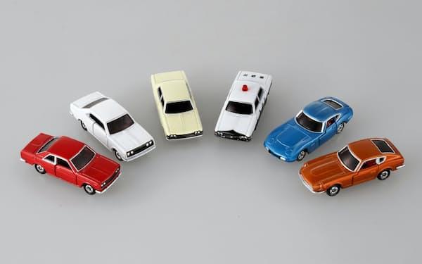 タカラトミーはトミカの50周年記念として初代トミカ6種を12月に発売する