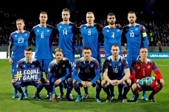 東京都北区程度の人口ながら2018年W杯に出場したアイスランド代表=ロイター