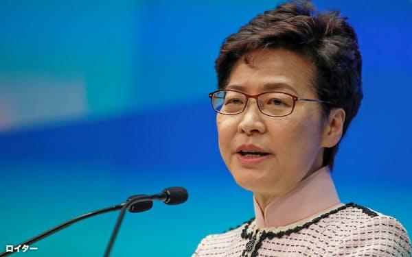 香港の林鄭月娥・行政長官の任期は2022年まである=ロイター