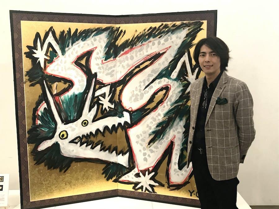 筆止めず「感情のまま」表現 芸術家 大森慶宣さん: 日本経済新聞