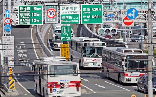 JR九州と西鉄はバスや鉄道を効率よく乗り継いで移動できる「MaaS」サービスで提携する