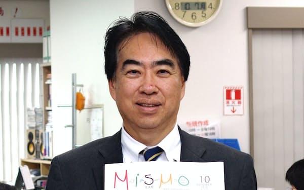 「ネットと紙媒体は共存できる」と話すインクルーブ代表取締役の中村さん