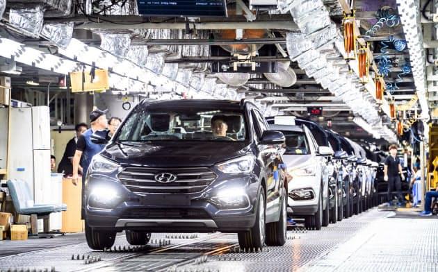労働組合は8年ぶりにストを見送った(韓国南部、蔚山市の旗艦工場)=現代自動車提供
