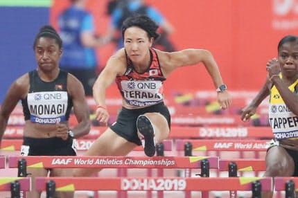 10年ぶりの世界選手権(10月、ドーハ)で力走した寺田