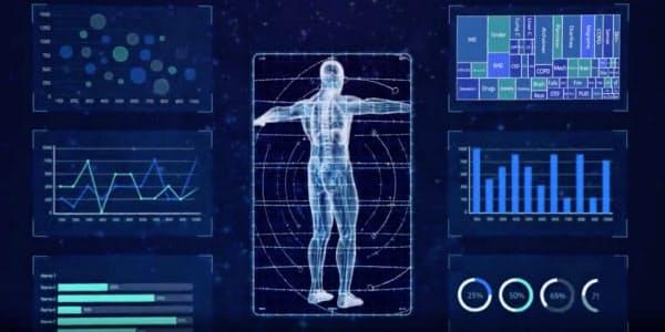 ビッグデータを活用して臨床データ分析などができる(立達融医提供)