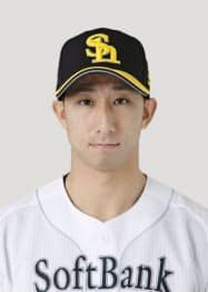 ソフトバンクの福田秀平外野手=共同