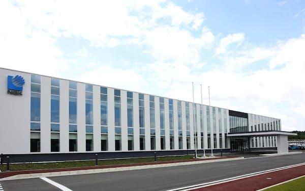 半導体製造装置向け部品「サセプター」の年間生産能力は5割増える(岐阜県多治見市)