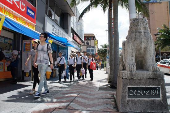 沖縄 観光 客
