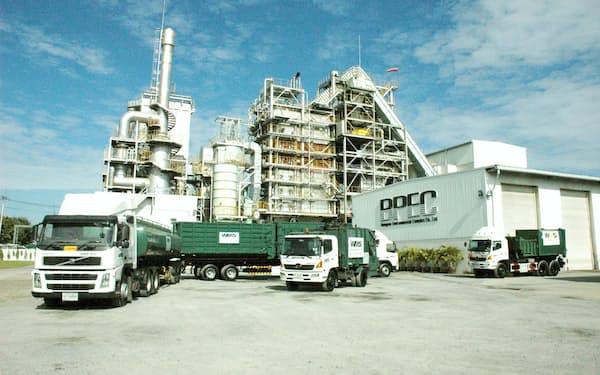 DOWAエコシステムがリサイクル設備を導入したタイ現地法人の処理施設(タイ中部サムットプラーカーン県)