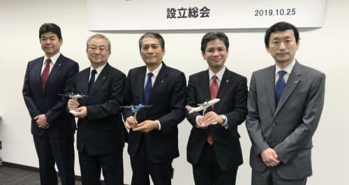 ANA、JALと九州の地域航空3社が連携に乗り出す(25日、東京都港区)