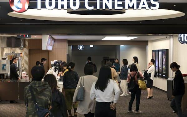 運営する映画館のスクリーン数は合計12ある(東京都墨田区のTOHOシネマズ錦糸町)