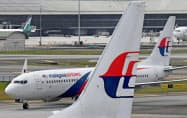 マレーシア航空は経営再建を進めている=ロイター