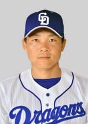 中日の大島洋平外野手=共同