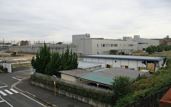 コーナン商事などが出店するパナソニック工場跡地(大津市)