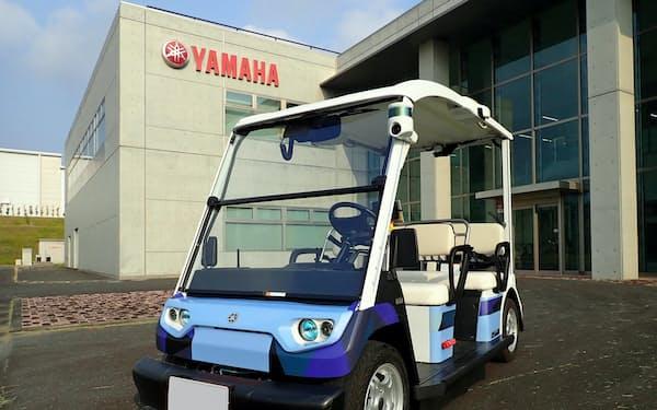 ヤマハ発は、次世代移動サービスの実現に向け、電動小型車両を使った実証実験を進めている(写真はイメージ)