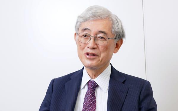 元東大学長の佐々木毅さん