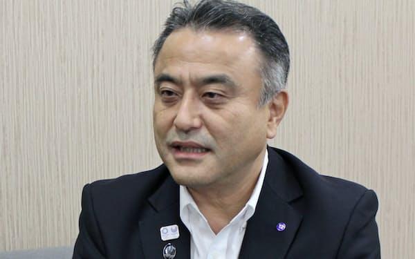 「横浜の顔になる施設にする」と話す横浜市の小林一美副市長
