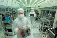 TSMCの半導体工場(同社提供)