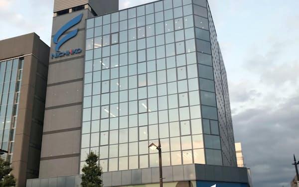 日医工は品ぞろえを強化する(富山市の本社)
