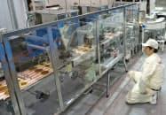 マスダックマシナリーは全自動どら焼き製造ラインのメンテナンス性を高めた