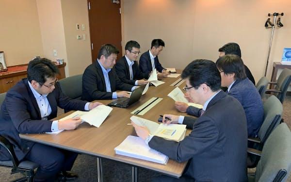 最初の「NCB九州活性化ファンド」では出資先企業の経営相談にも応じている(福岡市)