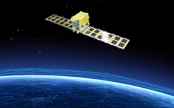 シンスペクティブのレーダー衛星(イメージ)