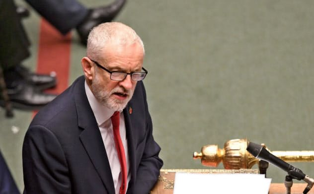 労働党のコービン党首は早期解散支持に転じたが勝算はまだ見えない(ロイター)