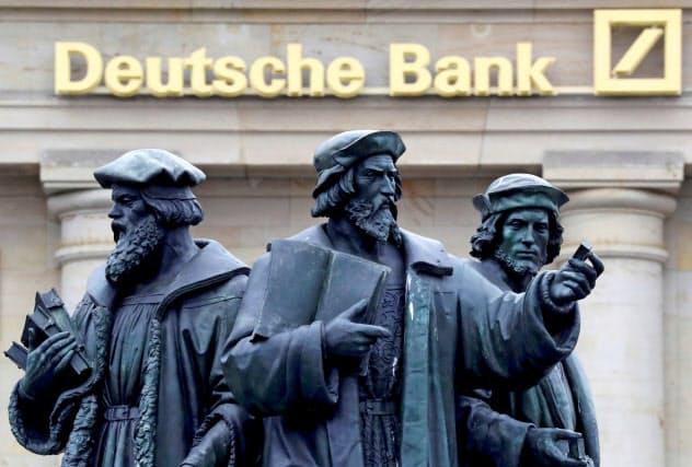 ドイツ銀行では大規模なリストラが進行中だ=ロイター