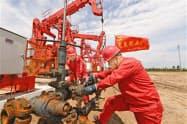 中国石油大手は生産拡大を進める(中国石油天然気集団のサイトから)