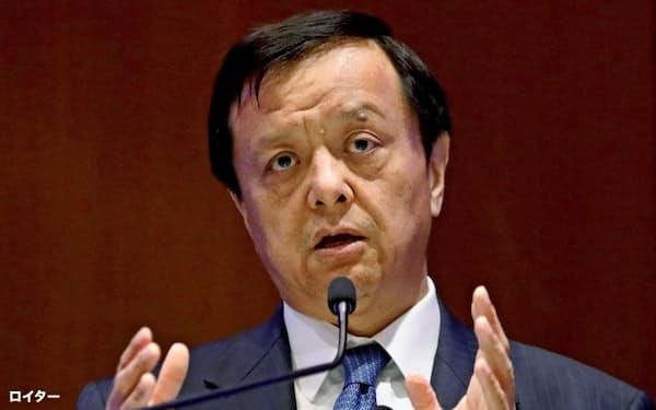 香港取引所の李小加CEO=ロイター