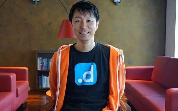 ドットデータの藤巻遼平最高経営責任者(CEO)