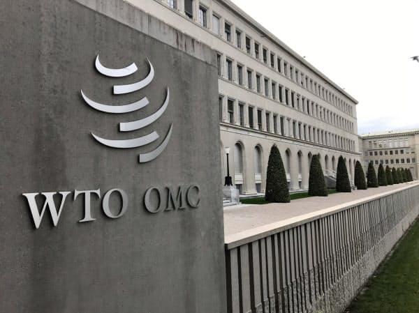WTOはインドに措置の撤廃を求めた(スイス・ジュネーブの本部)