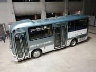 11月1日から運行実験を開始した自動運転バス(イメージ)