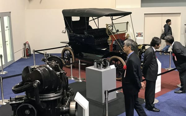 博物館では工作機械など約200点を展示する(1日、岐阜県美濃加茂市)