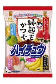 森永製菓が11月5日に発売する「縁起をかつぐハイチュウ」