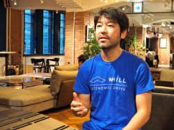WHILL(横浜市)の杉江理社長