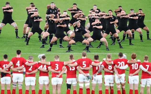 ニュージーランドが3位 ウェールズを40-17で破る