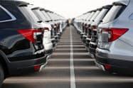 10月の米日本車販売は0.2%増えた=AP