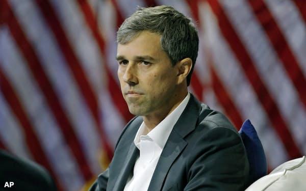米大統領選の民主党候補の指名争いから撤退を表明したベト・オルーク前下院議員=AP