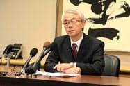 日本の高見沢将林軍縮大使(1日、ニューヨーク)